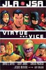JLA JSA Virtue and Vice Hardcover 2002 by Geoff Johns, Jesus Merino, Guy Major