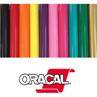 "Oracal 651 Permanent Self Adhesive Indoor Outdoor Craft Vinyl 12"" Width Roll s"