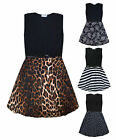 Girls Skater Dress Kids Party Summer Dresses New Age 5 6 7 8 9 10 11 12 13 Years