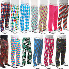 Golf Trousers By Royal And Awesome Funky Loud Bright Crazy Golf Slacks Pants