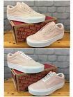 VANS OLD SKOOL PLATFORM UNISEX SEPIA ROSE/ TRUE WHITE VARIOUS SIZES MENS LADIES