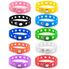 10/60 Lot Wristband Fit Shoe Charm Croc Jibbitz Adult Kid Size Silicone Bracelet