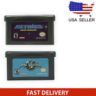 Metroid: Zero Mission / Fusion For GameBoy Advance ,GBA US Version Free Shipping
