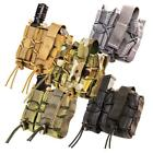 High Speed Gear LEO TACO MOLLE Pistol/Handcuff TACO Combo Pouch, Made in the USATactical, Molle Pouches - 177900