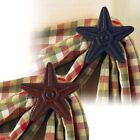 Star Cast Iron Curtain Hook