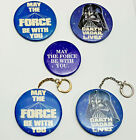 Original 1977 Star Wars Button & Keychain Collection- Your Choice of 5 $24.99 USD on eBay