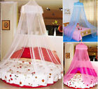 HOT Cute Baby Princess Canopy Crib Netting Dome Bed Mosquito Net for Nursery NEW image
