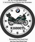 2019 BMW K1600GTL MOTORCYCLE WALL CLOCK-HONDA, HARLEY, INDIAN, TRIUMPH $28.99 USD on eBay