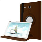 """360 Rotating Stand Case Leather Hybrid Cover For Samsung GALAXY Tab S2 8.0"""" 9.7"""""""