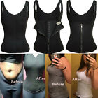 Plus Size Shapewear Waist Trainer Vest Sweat Fat Burner Weight Loss Body Shaper