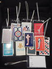Luggage Tag American Airlines W/playing Card Choose From Multiple Designs