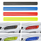 "Car Smoke Fog Light Headlight Taillight Tint Vinyl Film Sheet Sticker 12""x48"" US"