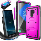 For Samsung Galaxy S9/S9+ Plus Qi Wireless Fast Charger Charging+Protective Case