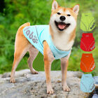 Summer Pet Dog Vest Puppy Outdoor Breathable Quick Dry Shirts Costume Apparel