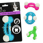 Dog Puppy Chew Toy Plastic Strong Rubber Play Ring Chewing Dental Pull Biting