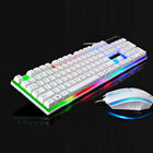 Keyboard Mouse USB Adapter For PS4 Xbox One And 360 Gaming Set Rainbow LED