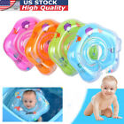 Inflatable Baby Infant Swimming Neck Float Ring Bath Circle Toy Safety Newborn