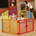 North States Superyard Colorplay 8-Panel Play Yard: Safe Play Area Anywhere