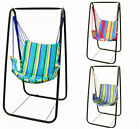 Hammock Chair Swing Seat Indoor Outdoor Garden Yard Hanging Rope Chair