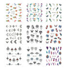 New  Women Nail Stickers Multiple Patterns Water  Nail Decals for Toe and Finger