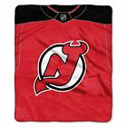 """Devils OFFICIAL National Hockey League, """"Jersey"""" 50""""x 60"""" Raschel Throw  by The $36.71 USD on eBay"""