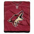 """Coyotes OFFICIAL National Hockey League, """"Jersey"""" 50""""x 60"""" Raschel Throw  by The $36.71 USD on eBay"""