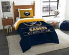 """Sabres OFFICIAL National Hockey League, Bedding, """"Draft"""" Twin Printed Comforter $72.89 USD on eBay"""