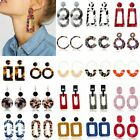 Fashion Boho Women Geometric Acrylic Stud Earrings Dangle Drop Jewellery Gifts