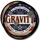 Gravitt Family Name Drink Coasters - 4pcs - Wine Beer Coffee & Bar Designs