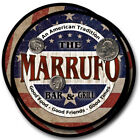 Marrufo Family Name Drink Coasters - 4pcs - Wine Beer Coffee & Bar Designs