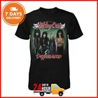 Motley Crue T-Shirt Vintage Shirt Limited Made In US Tee Men Black Cotton S-6XL image