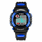SYNOKE Boys Girls Child Digital Sport Date Alarm 12/24H Electronic Wrist Watch