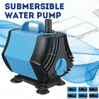 220V Pro Submersible Aquarium Water Pump Fish Tank Powerhead Fountain Hydroponic