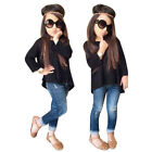 Toddler Kids Girls Outfit Clothes Long Sleeve T-shirt Tops+Jeans Pants 1Set 2-8T