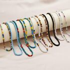 Mystic Aura Quartz Gemstone Loose Beads Holographic Matte DIY Bracelets Necklace