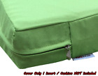 "Outdoor 4 Pack Deep Seat Chair Patio Cushions Zipper Cover 24""X22""X4"" 6 Color XL"