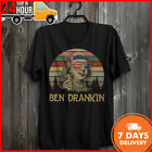 Benjamin Ben Drankin Vintage Men T-Shirt Cotton 4th Of July Shirt Funny Benjamin image