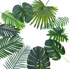 1PC Palm Tree Leaves Tropical Monstera Artificial Plastic Garden Home Decor New