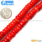 """Natural Geuine Light Coral Gemstne Loose Beads Strand 15"""" Jewelery Making Beads"""