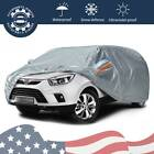 Large Waterproof Full Car Cover w/ Mirror Pockets Universal Off Road SUV Storage
