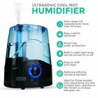 Aroma Diffuser Electric Ultrasonic Air Mist Humidifier Purifier Essential LED UK
