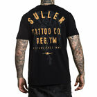 Sullen Men's Venice Short Sleeve T Shirt Black Clothing Apparel Tee T-Shirts
