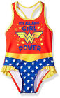Внешний вид - Wonder Woman Toddler Girls It's All About Girl Power One-Piece Swimsuit Size 2T