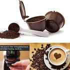 4PCS Refillable Reusable Compatible Coffee Capsules Pods for DOLCE GUSTO Machine