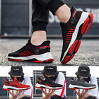 Mens Summer Mesh Breathable Lace Up Shoes Trainers Running Sneaker Casual Shoes