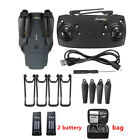 Drone x pro 2.4G WIFI FPV 1080P HD Camera Foldable RC Quadcopter +4 battery +Bag
