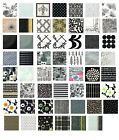 Black and White napkins 4 individual napkins ideal for decoupage