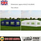 Marquees Waterproof Party tent All Seasons Gazebos with 8 Walls Blue/White