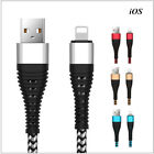 Micro USB Type C IOS Fast Charger Cable For Samsung Apple iPhone X XS 7 Android