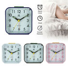 Easy To Read Alarm Clock Bedside Travel Luminous Glow In The Dark Silent No Tick